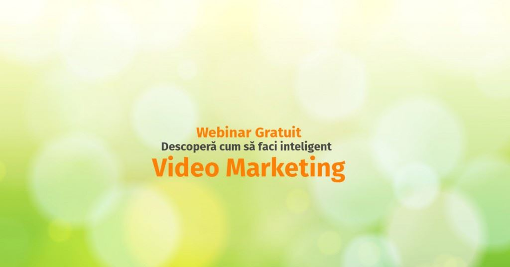 webinar video marketing