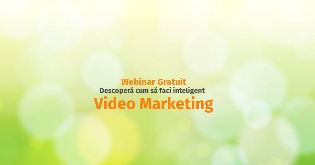 webinar video marketing