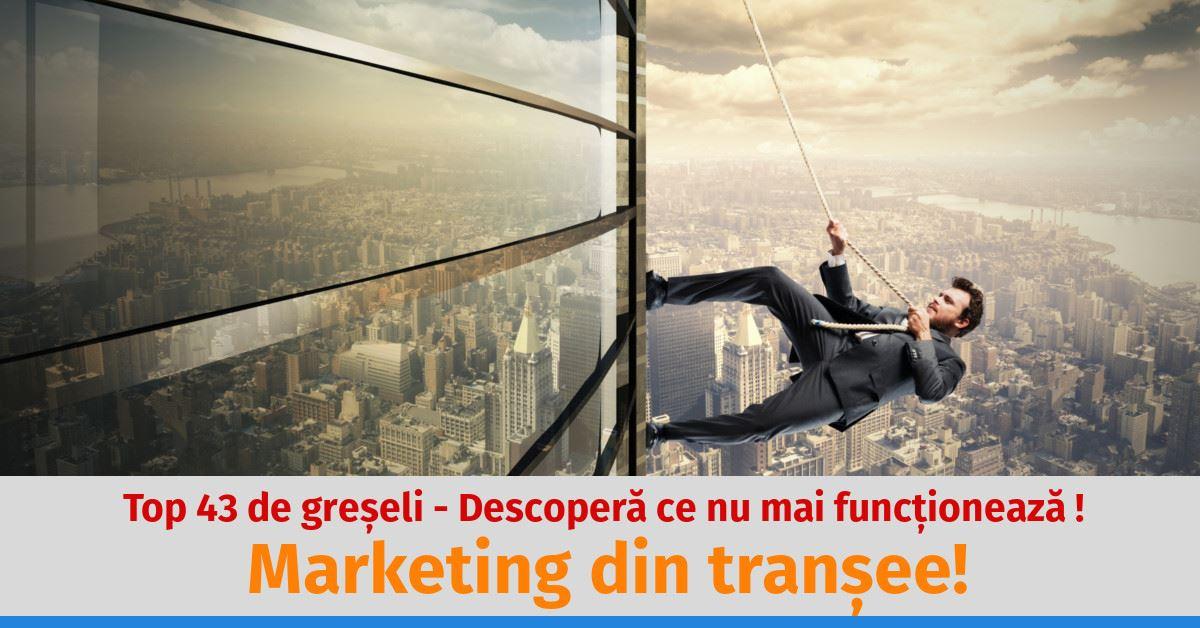 marketing online din transe
