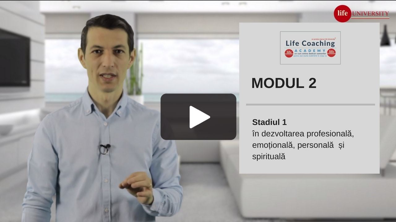 life coaching - modulul 2