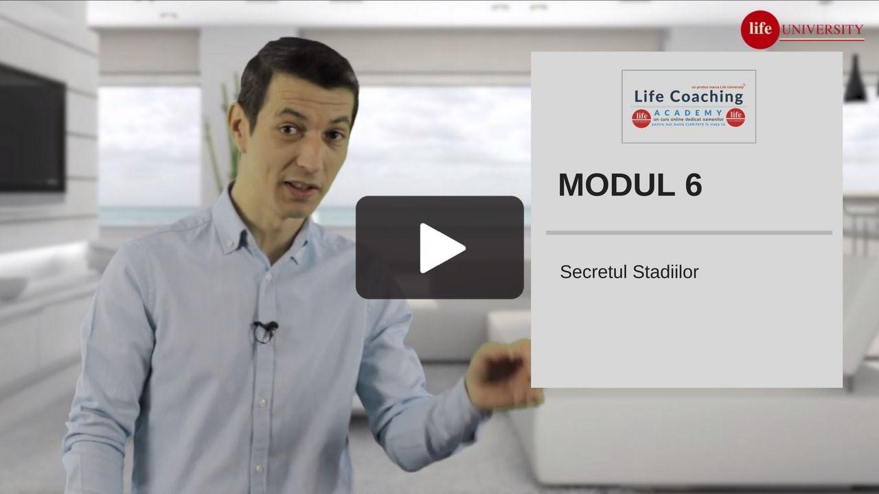life coaching - modul 6