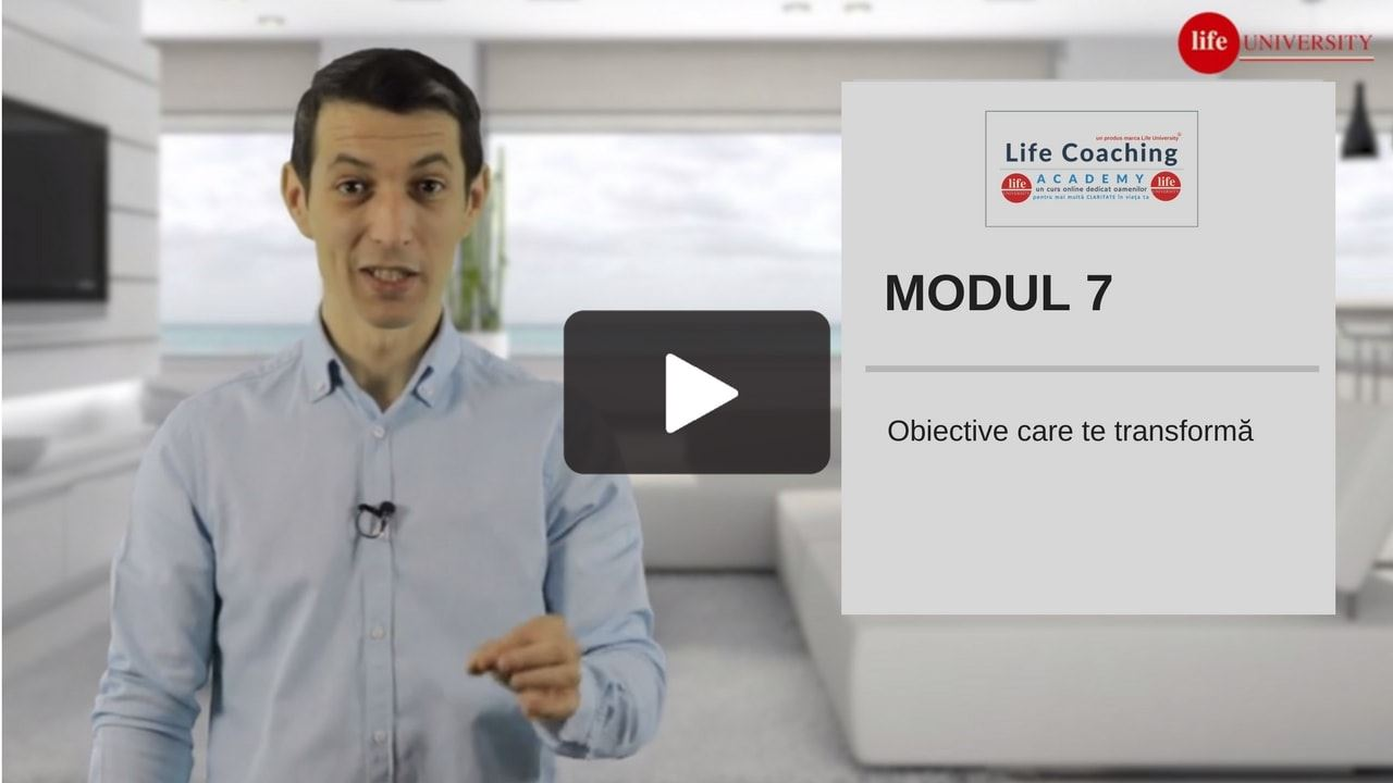 life coaching academy - modul 7 life university