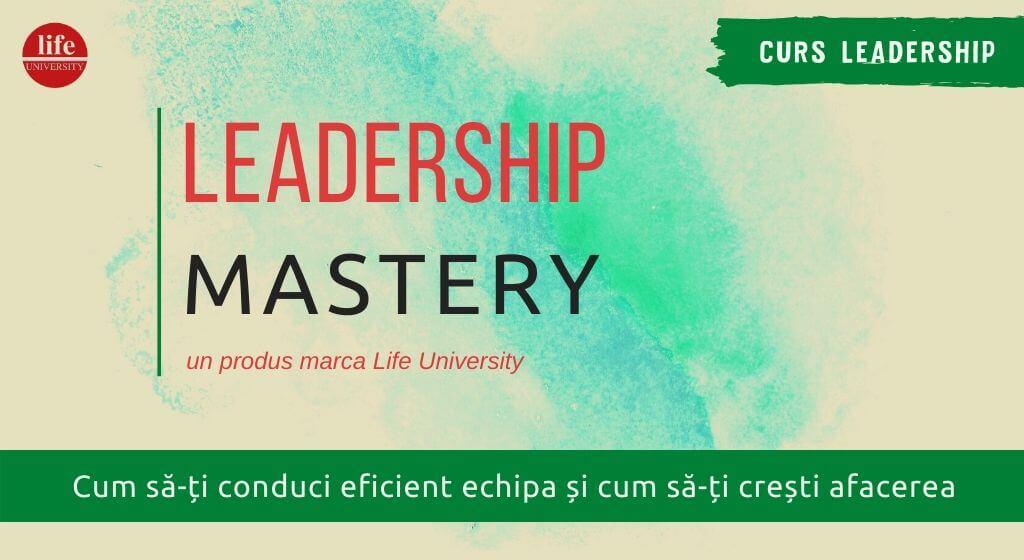 curs leadership mastery