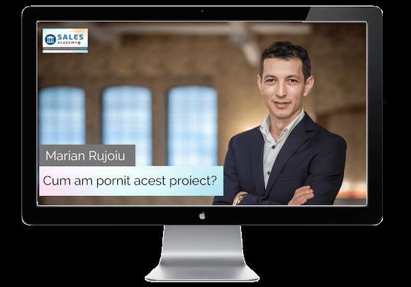 Marian Rujoiu - Cum am pornit acest proiect