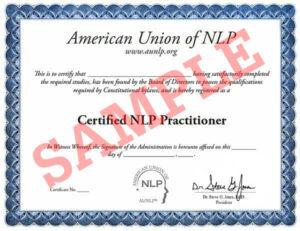 certificare curs nlp