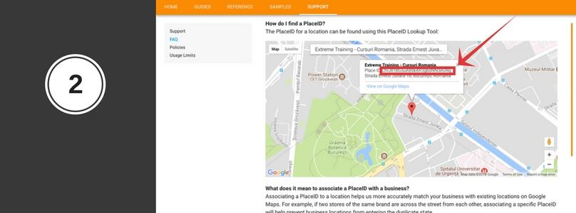 pace ID afacerea ta pe google