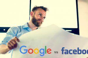 Pe cine aș paria în promovarea online: Facebook sau Google?