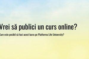 Publicare cursuri Online – Servicii complete – Beneficii