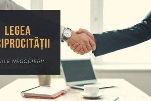 Legea Reciprocitatii în Negociere: Exemple de aplicare