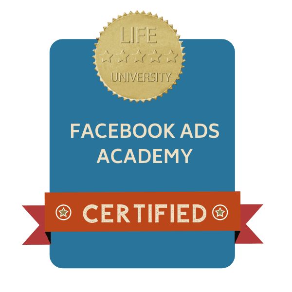badge facebook ads academy