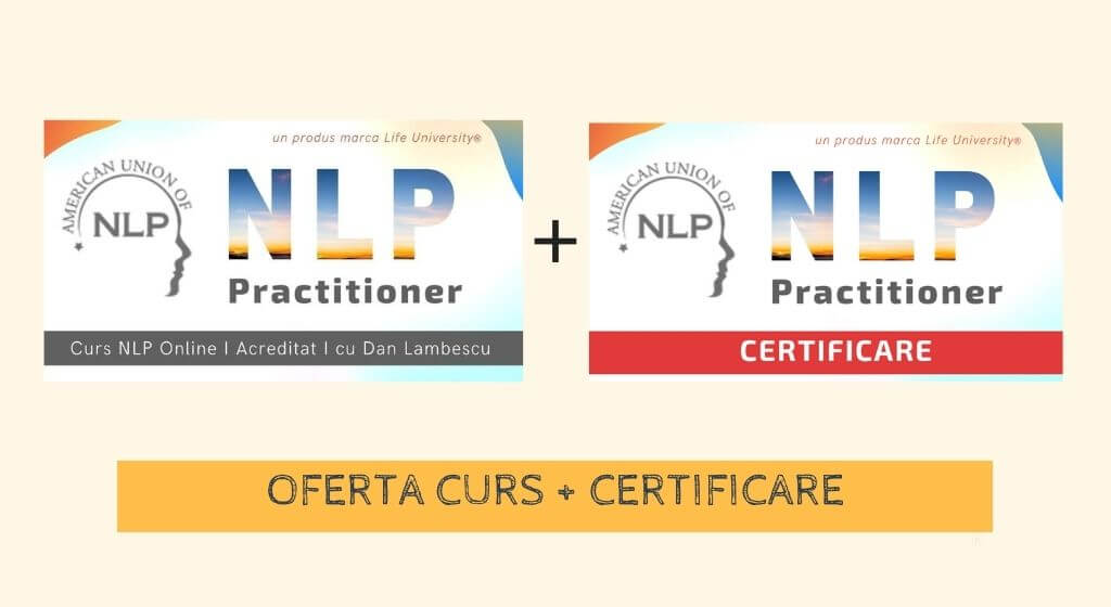 certificare nlp + Curs