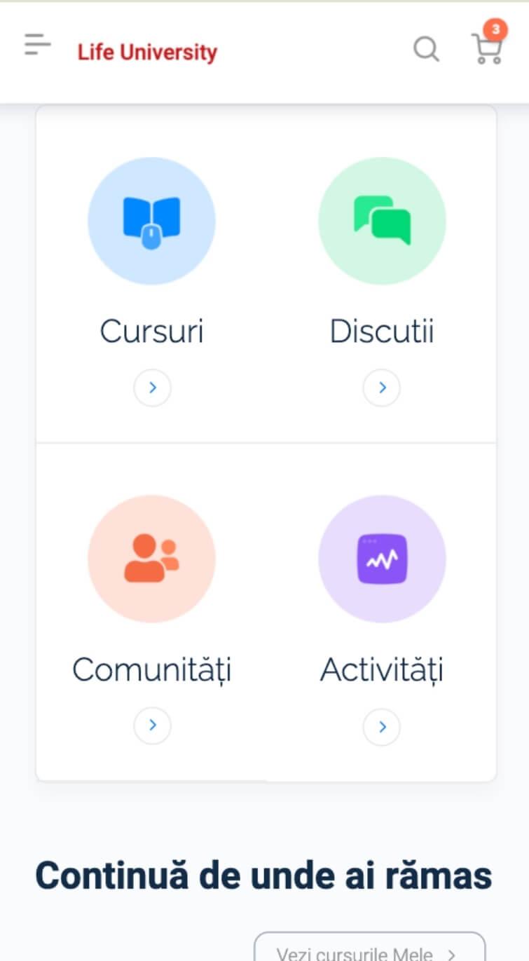 comunitati social learning cursuri online