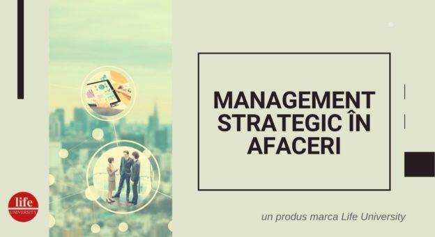 Management Strategic in Afaceri