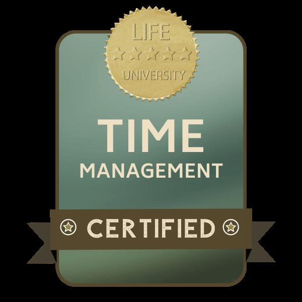 bdge curs time management online