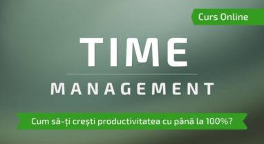 curs time management cursuri online