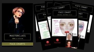 facechart make-up
