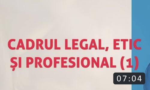 Cadrul legal, etic si profesional in coaching
