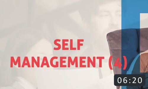 Self Management in Coaching